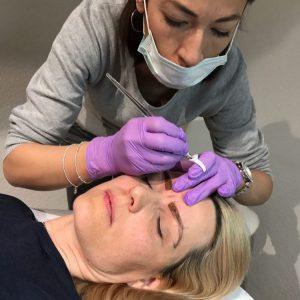 Schöne Augenbrauen mit Microblading Health & Beauty Lounge Zürich