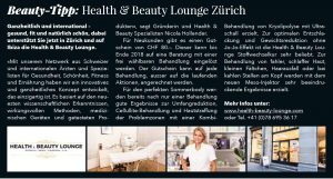 Health & Beauty Lounge Zurich